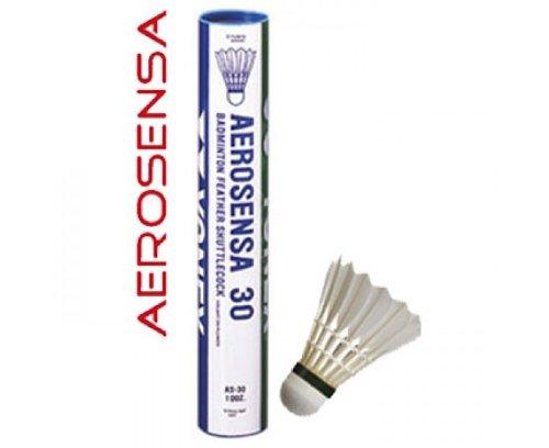 YONEX AeroSensa-30 Goose Feather Badminton Shuttlecocks - Dozen , 78-Medium-Blue