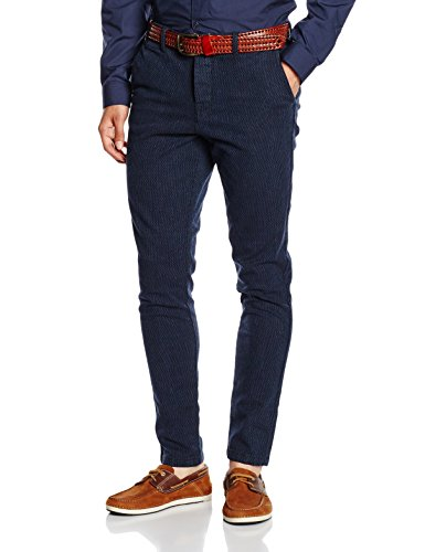 Jack & Jones Men's Casual Trousers (5712830977715_12097624_28_Navy Blazer)  available at amazon for Rs.1997