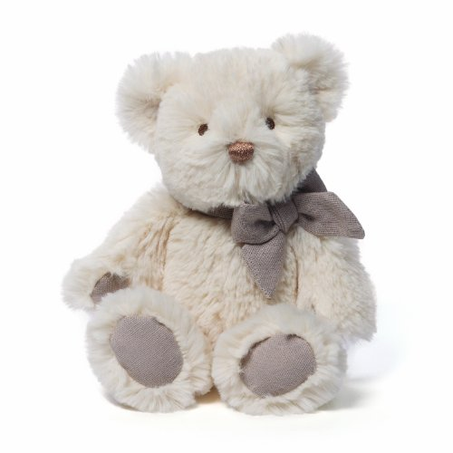Amandine Bear Chime Toy (Cream) by Gund