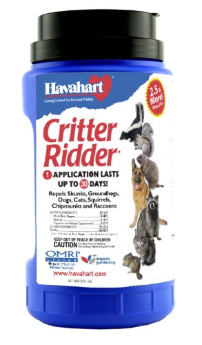 Havahart Critter Ridder 3146 Animal Repellent Granular 5-Pounds