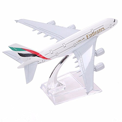 Frontier Brand New Airbus380 Emirates Airlines A-380 Aircraft Aeroplan 16cm Diecast Model (Frontier Airlines Model compare prices)