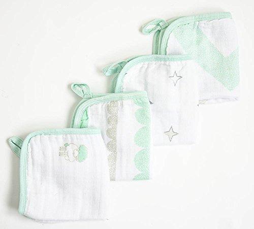 Amigo - Baby Muslin Washcloths 4 Pk - Fido