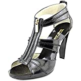 Michael Michael Kors Women's Berkley T-Strap Black Sandal