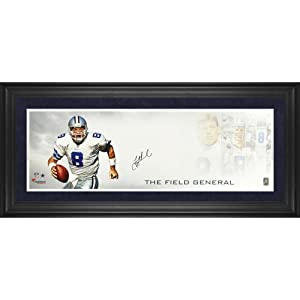 Troy Aikman Dallas Cowboys Framed Autographed 10
