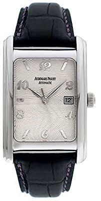Audemars Piguet Edward Piguet 18kt White Gold Black Mens Watch 15121BC.OO.A002CR.01