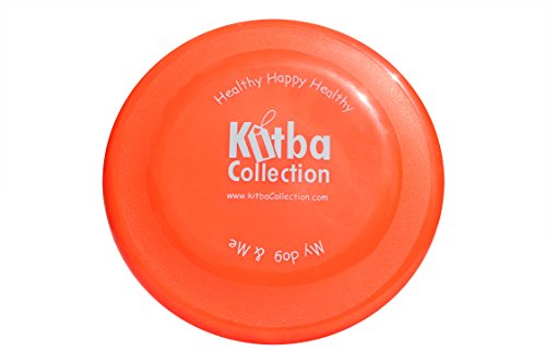 "The Original Kitba Collection Dog Flying Disc, Happy and Healthy Exercise for your Dog. For You And Your Kids. Fun With Throwing And Catching Flying Objects. Diameter 9"". - 1"