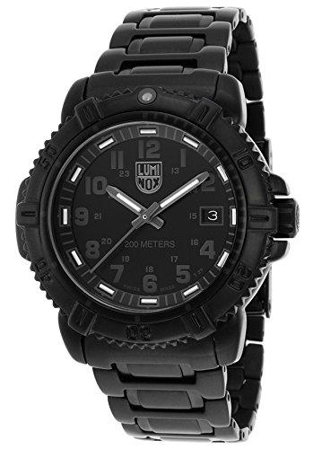 Luminox 7252-BO 38mm Ion Plated Stainless Steel Case Black Steel Bracelet Synthetic Sapphire Women's Watch