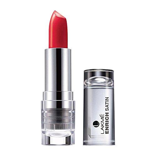 Lakme Enrich Satins Lip Color, Shade R356, 4.3 g
