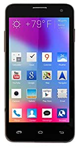 Alco 3G CDMA GSM GSM GSM 4.5 inch 3G Android Mobile Phone in Brown Colour