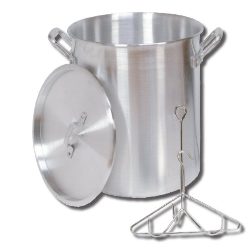 King Kooker 26pk 26 Quart Aluminum Turkey Pot With Lid