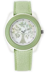 Sprout Tree Face Organic Band Watch