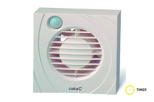 Extractor De Baño Con Interruptor:CATA B 10 PIR – Extractor de aire axial con sensor de infrarrojos