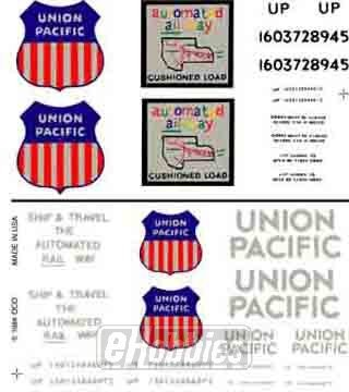 woodland-scenics-dry-transfer-decals-ho-scale-union-pacific-box-cars-by-woodland-scenics