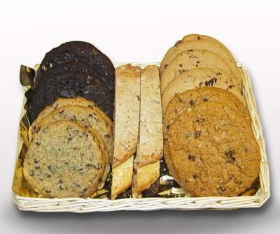 Gourmet Cookie Basket Four Dozen