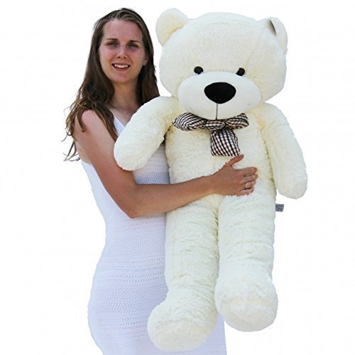 Joyfay-47-120cm-White-Giant-Teddy-Bear-Stuffed-Toy
