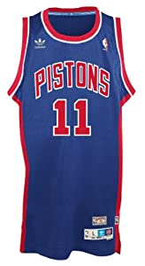 Isiah Thomas Detroit Pistons Adidas NBA Throwback Swingman Jersey - Blue by adidas