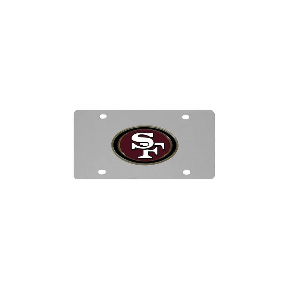San Francisco 49ers NFL License/Logo Plate