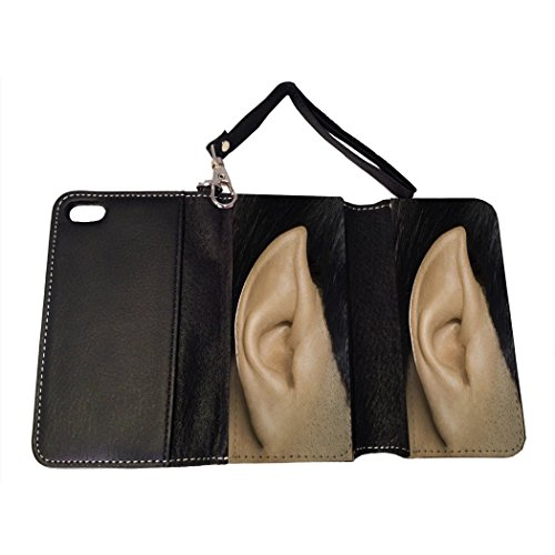BMC iPhone SE Wallet Handbag Case - Spock Ear