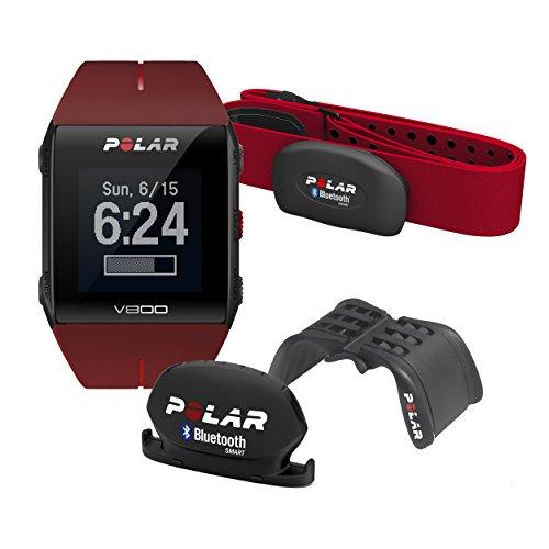 Polar V800 Orologio con GPS Integrato, Colore Rosso