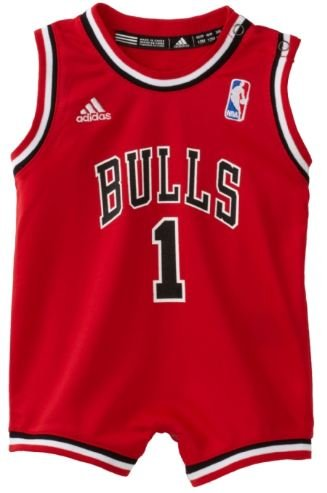 NBA Infant Chicago Bulls Derrick Rose Away Onesie Jersey - R22Usbb5 (Red, 12 Months) at Amazon.com