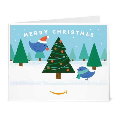 Amazon Gift Card - Print - Christmas Tree Birds