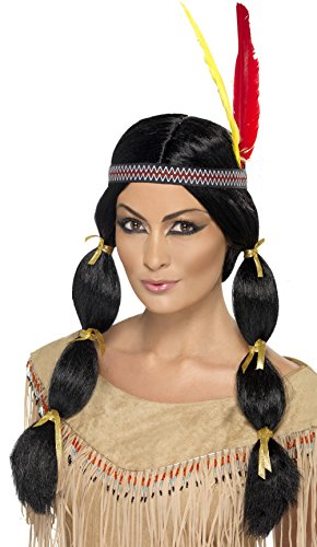 Smiffy's Indian Wig - 1