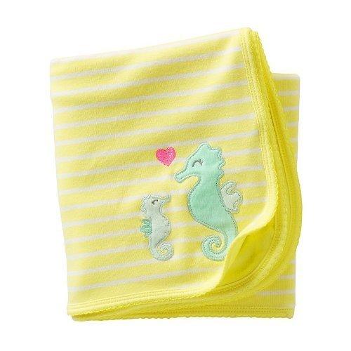 Carters Seahorse Blanket - 1