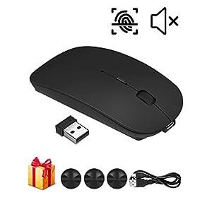 Etmury ワイヤレスマウス,マウス 高精度 USB充電式 持ち運び便利 省エネルギー 無線マウス