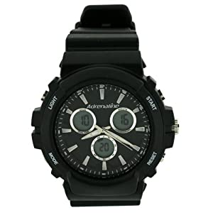 Adrenaline By Freestyle Digital Analog Sport Watch Chronograph Alarm Black