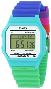 Timex Unisex T2N2719J Fashion Digitals Premium Multicolor Watch