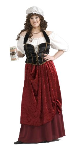 Forum Novelties Women's Tavern Wench Plus Size Costume