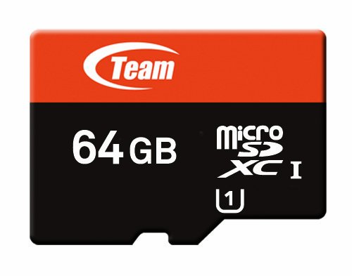 Team Micro SDXC������ UHS-1 40MB/sec (64GB) �������Ѵ������ץ����դ�