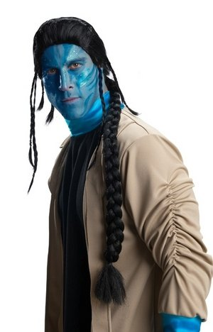 Avatar Jake Sully Wig for Mens Halloween Costume