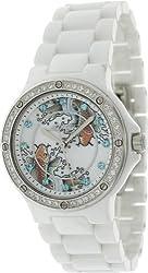 Ed Hardy Dreamer Koi Swarovski Crystal/ceramic Watch Dm-ki