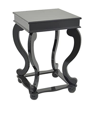 Three Hands Wood Table, Black As You See