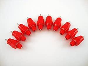 ***Threaded Style*** Oasis Poultry Water Nipples, 10 Pack, Sanitary Water for up to 30 Chickens, Turkeys, Geese or Ducks
