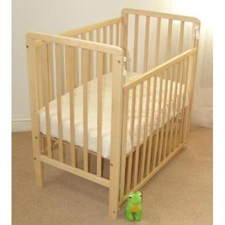 Saplings Space Saver Cot-Natural + FREE MATTRESS