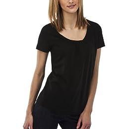 Product Image Merona® Women's Relaxed Fit Tee - Ebony