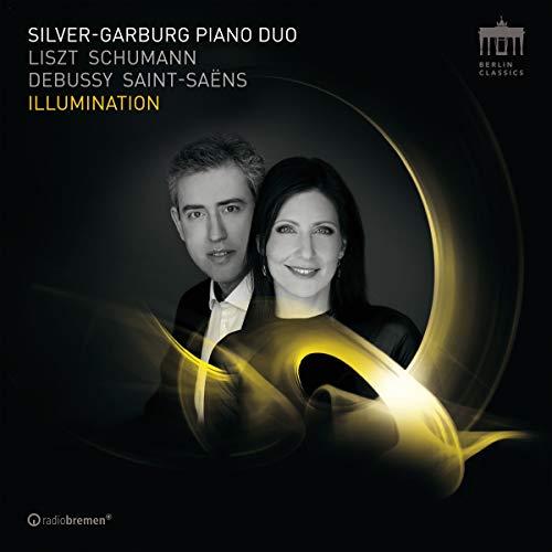 CD : LISZT / SILVER-GARBURG PIANO DUO - Illumination (CD)