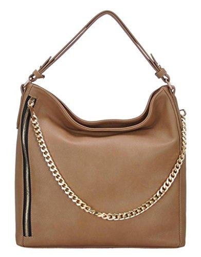Miztique Jennifer Women'S Taupe Handbag