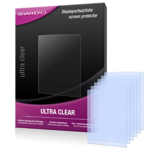 6 x SWIDO Ultra Clear Displayschutzfolie