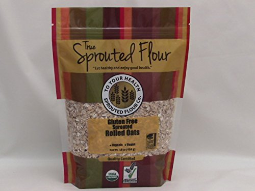 1 Lb. Organic, Sprouted Rolled Oats
