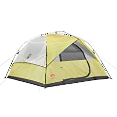 Coleman Company Instant Dome 6 Person Tent, Yellow Tan, 7x8-Feet by Coleman