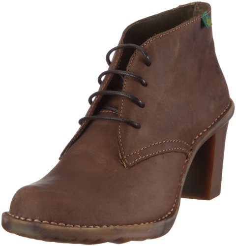 El Naturalista Women's N523 Chocolate Comfort Lace Ups 7 UK