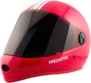 Predator DH6 Helmet Red Longboard Helmet by Predator