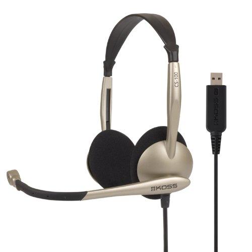 Koss Communications Usb Headset With Microphone (Cs100-Usb)