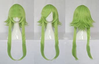 Topbill Anime Vocaloid Gumi Miku Light Green Cosplay Wigs