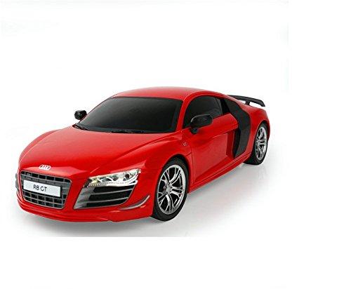 AUDI-R8-GT-RC-ferngesteuertes-Lizenz-Fahrzeug-im-Original-Design-Modell-Mastab-124-Komplett-Set-inkl-Fernsteuerung
