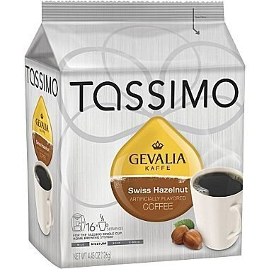 Tassimo Gevalia Swiss Hazelnut T-Discs, 4.5 oz, 16 ct (Tassimo Disk compare prices)