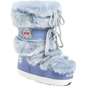Olang Puff Snow Boots (41/43, Periwinkle)